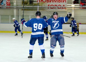 """2018-01-20 """"Молнии"""" - """"Гранит"""" НХЛ Круговая Стадия"""